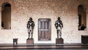 Shining armor in Segovia Spain