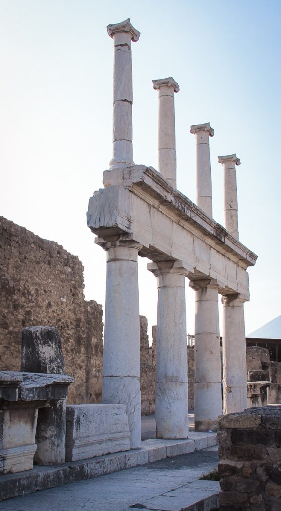 Visit the ruins of Pompeii on the first Sunday of the month to save money