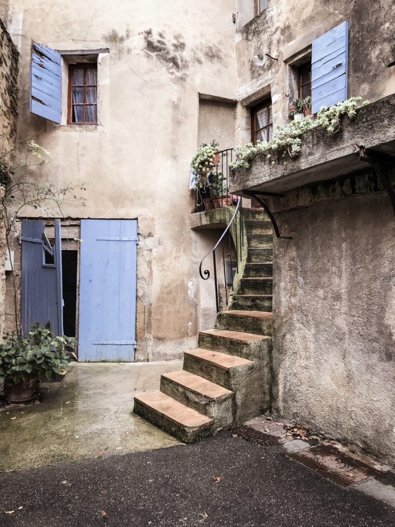 Plan a trip with my favorite photos of France in 2018 Blue doors and curved stair