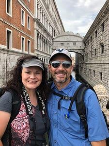 Chris and Jolayne in Bologna