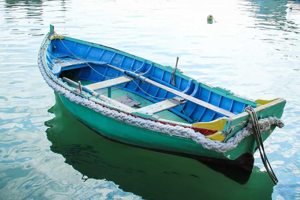 Harbor in Marsaxlokk Malta