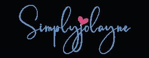 SimplyJolayne logo with heart