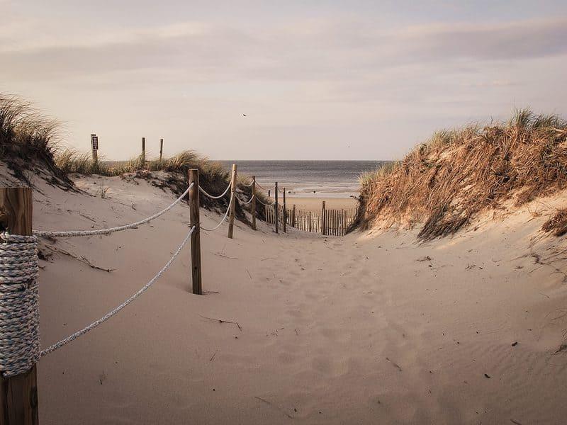 Howes St Beach in Massachusetts