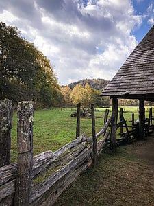 Fall foliage in North Carolina, Great Smoky Mountain National Park Visitor Center