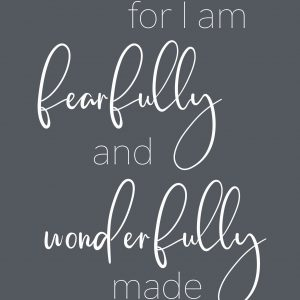 Fearfully and Wonderfully BW (8.5×11)