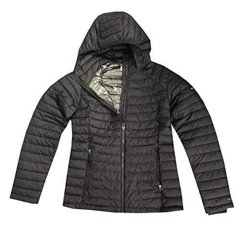 Columbia Women's Puffer Jacket White Out ll Omni Heat Hooded