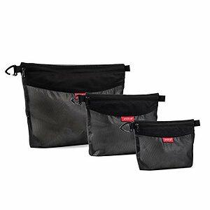 Water-resistant Mesh Zipper Bags for Storage