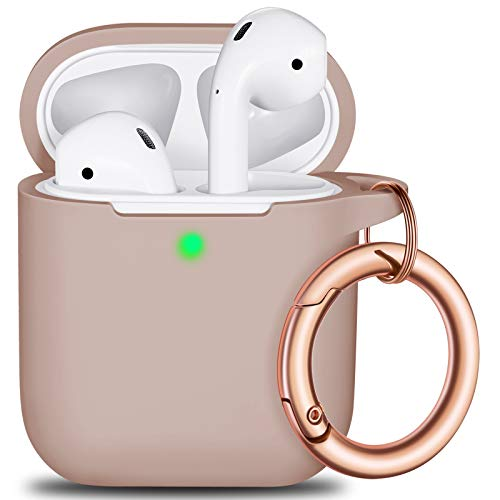AirPods Case Wireless Charging Case with Keychain