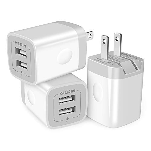Fast Charge Foldable Dual Port Charger Block