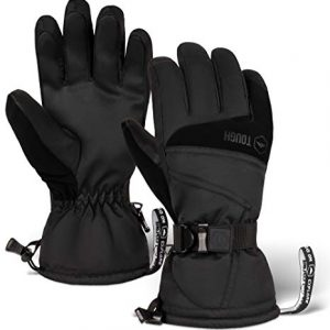 Ski and Snow Gloves Waterproof Insulated fits Men and Women