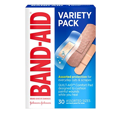 Band-aid brand bandages variety pack