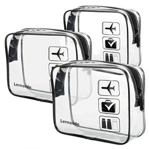 TSA Approved Toiletry Bag with Zipper