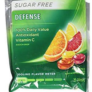 Halls Defense Cough Drops