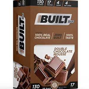 Built Bar Protein and Energy Bars Double Chocolate