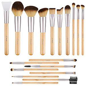 Bamboo Makeup Brushes Set
