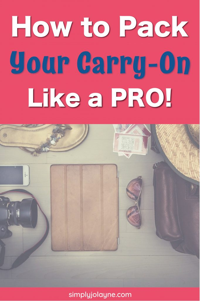 How to pack a carry-on like a pro image