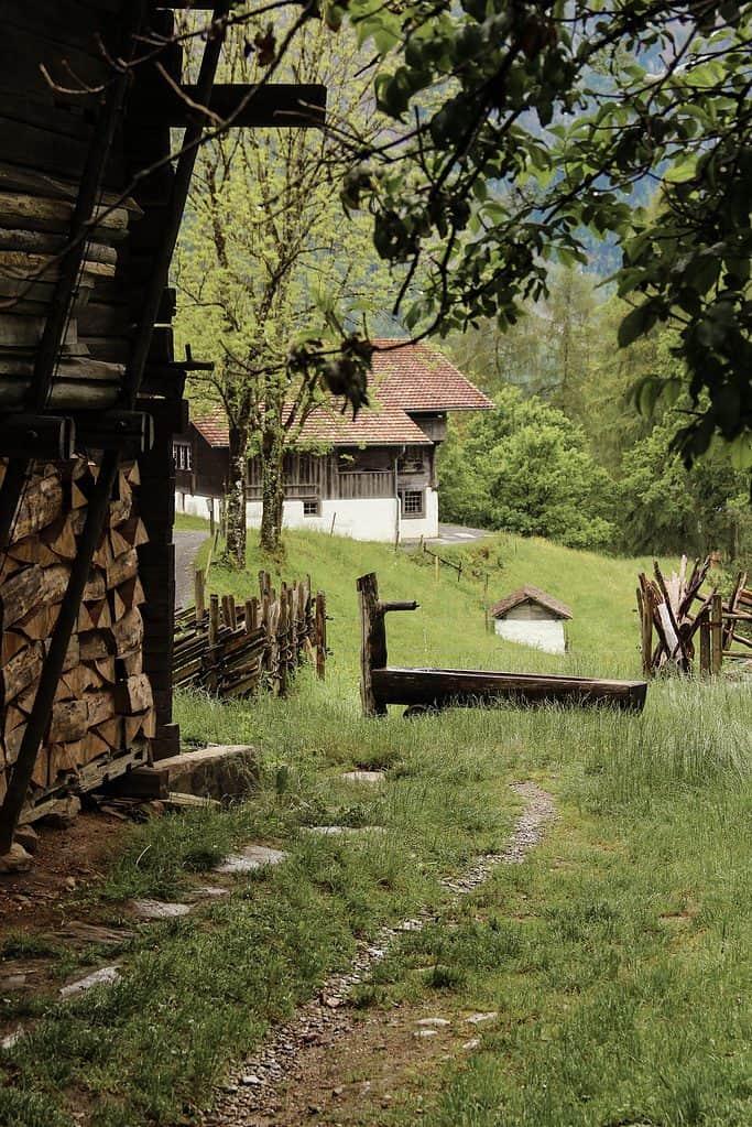 Ballenberg open air museum in Switzerland