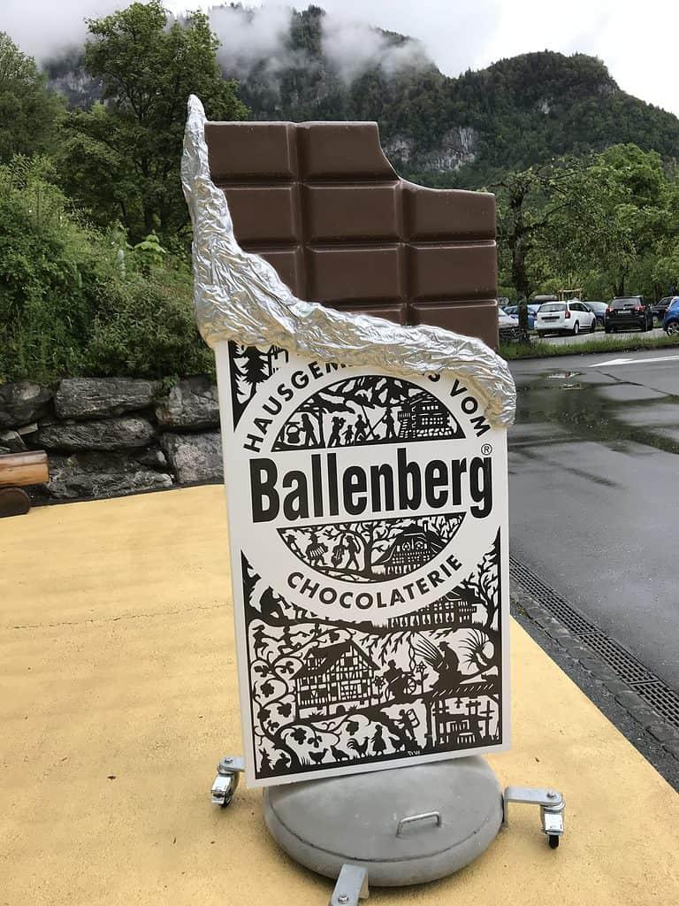 Life size chocolate bar