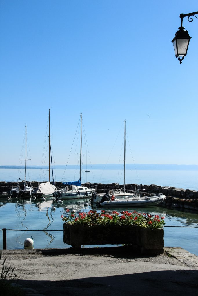 Lake Geneva from Yvoire France