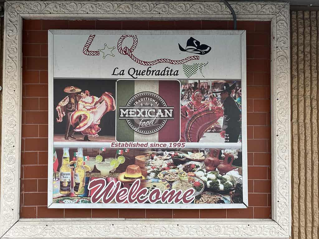 Le Quebradita mexican restaurant in Homestead Florida