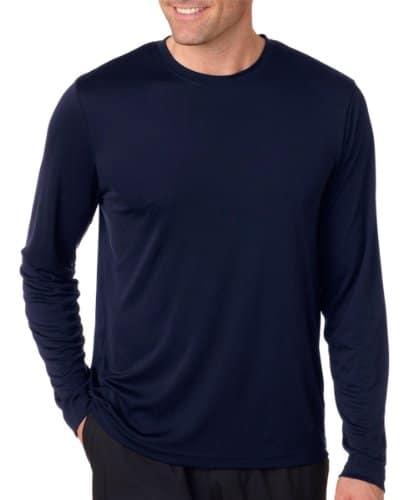 Hanes Men's Long Sleeve Cool Dri T-Shirt