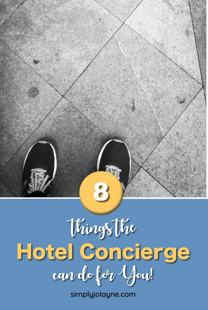 Things the Hotel concierge can do for you