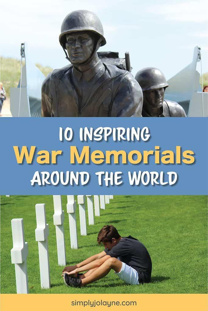 Inspiring war memorials