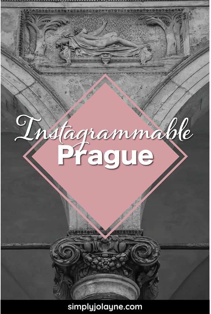 Pinterest Pin for favorite photos of Prague