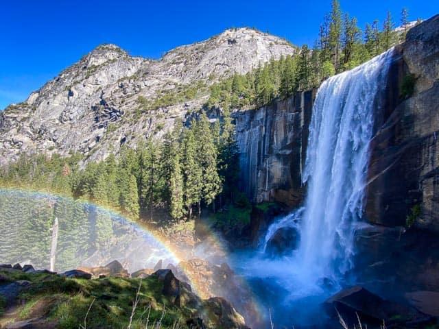 Vernal Fall in Yosemite
