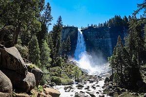 Nevada Falls in Yosemite National Park