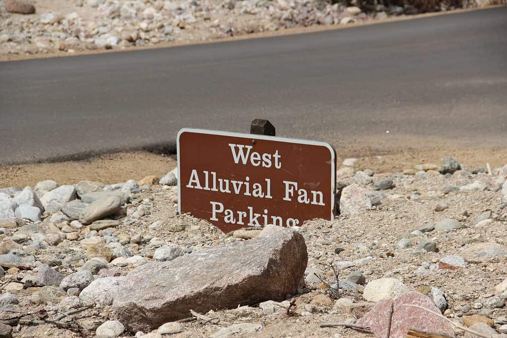 Alluvial Fan after slide in Rocky Mountain National Park