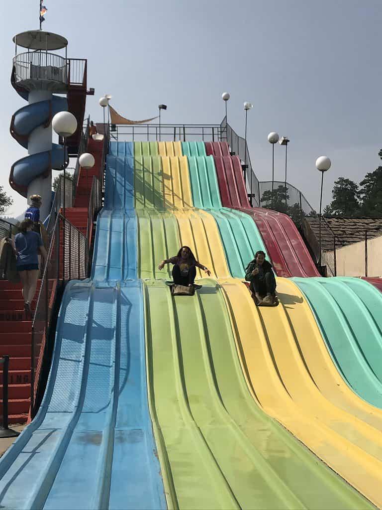 Fun Center Slide in Estes Park