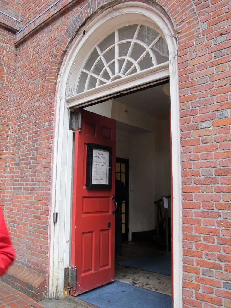 Old South Meeting House in Boston