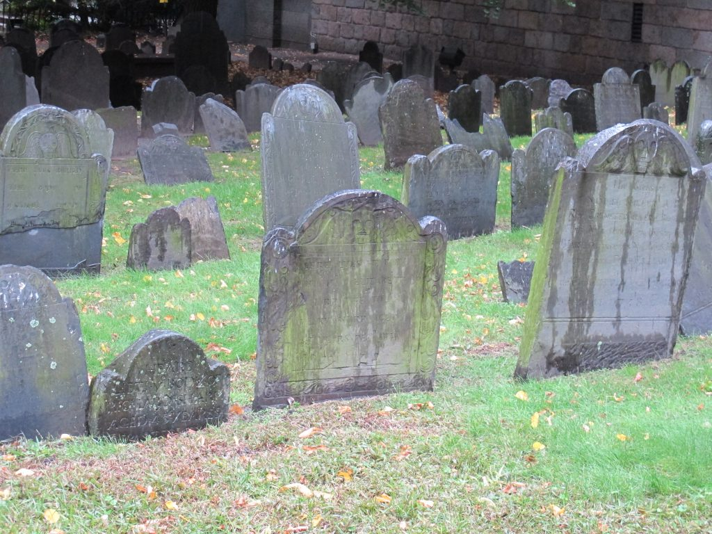 Cemetery with things to do in Boston