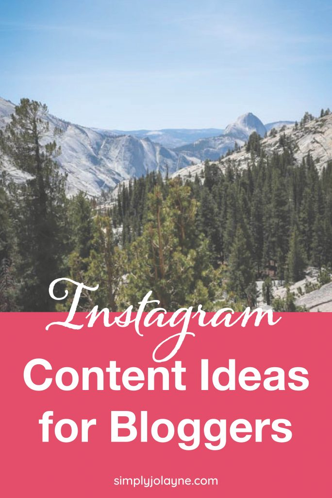 Instagram content ideas for travel bloggers