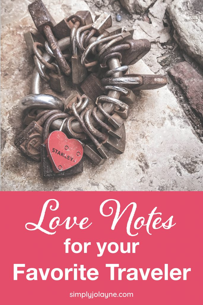 Love Notes for Your Favorite Traveler