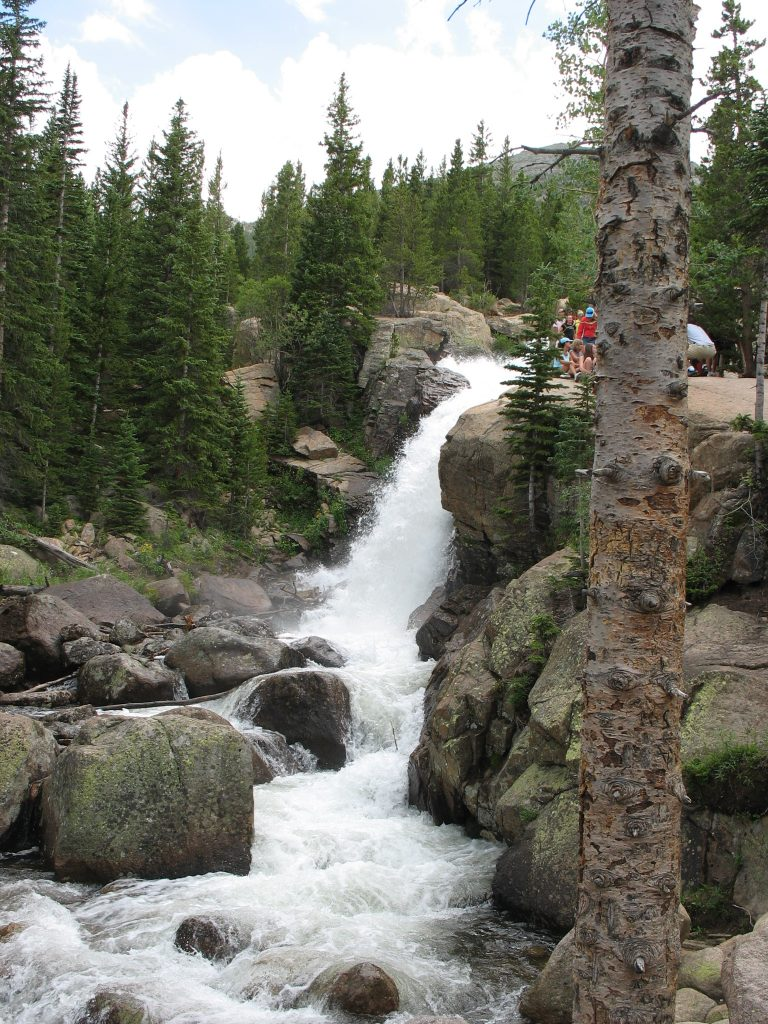 Alberta Falls in RMNP and hikes in Colorado