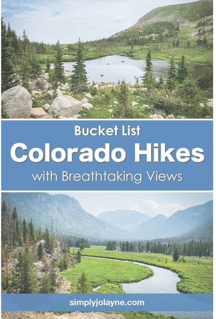 Bucket list of hikes in Colorado for breathtaking views