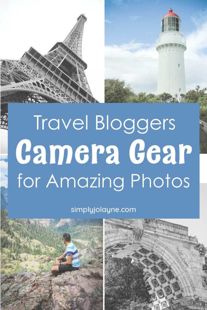 travel bloggers camera gear and photography gadgets for better photos