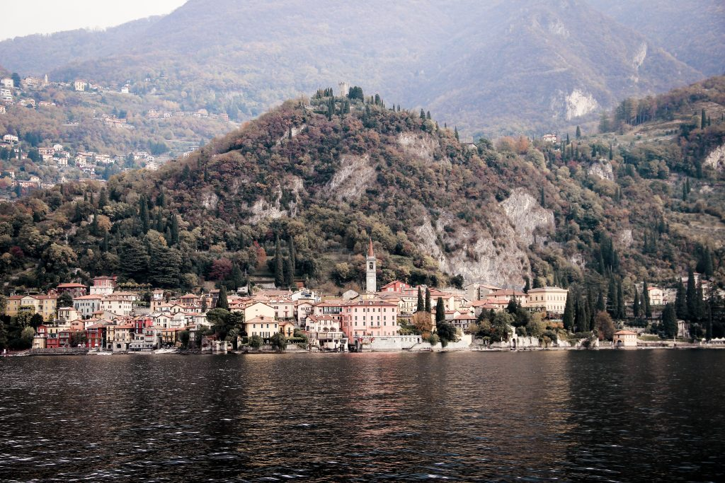Lake Como in Italy is one of the beautiful lakes