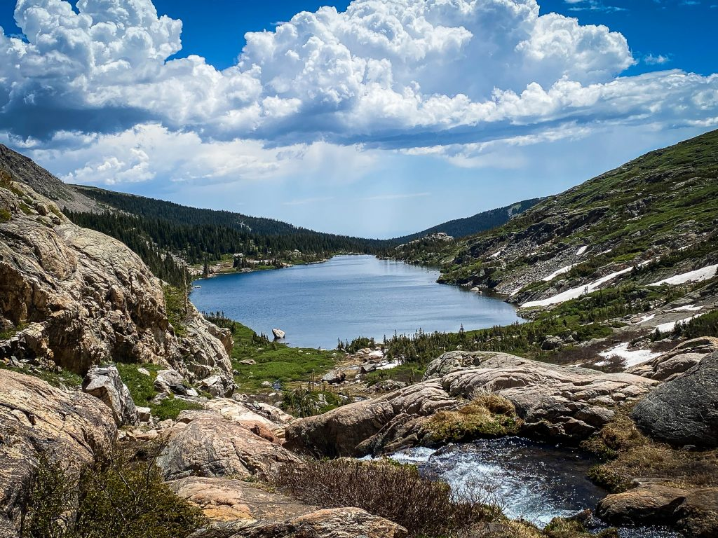 Beautiful lakes Lake Isabelle