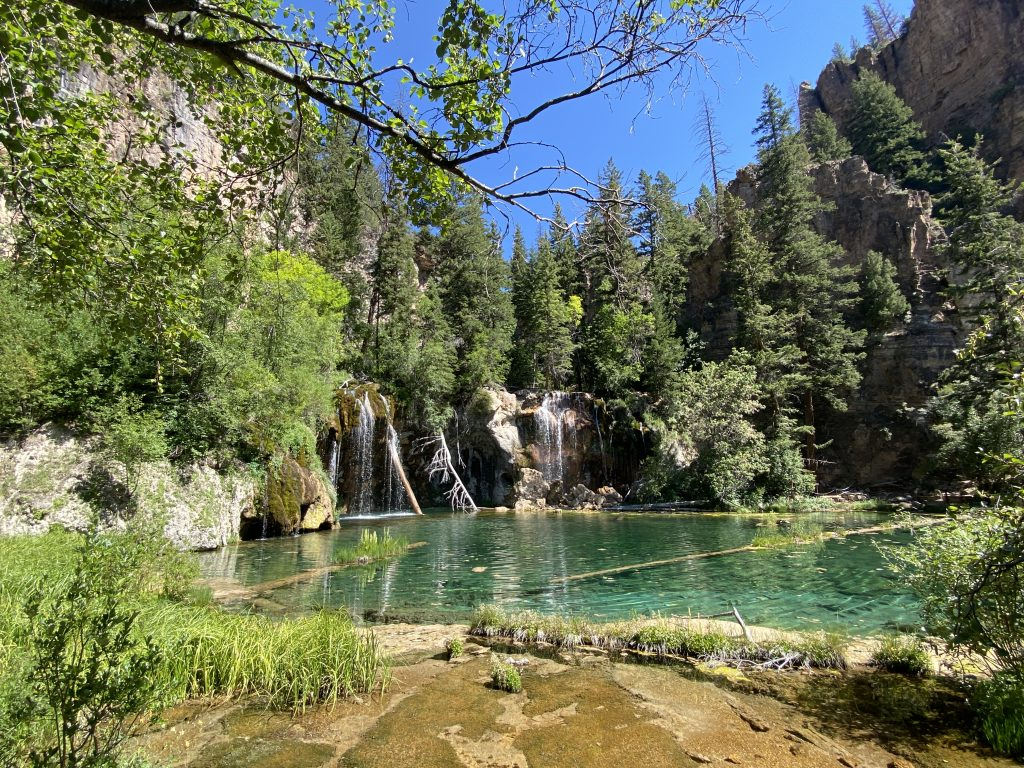 Hanging Lake in Colorado one of the beautiful lakes in the world