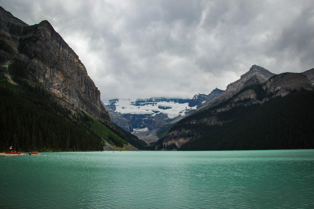 Lake Louise is one of the beautiful lakes around the world