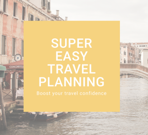 Super easy travel planning course