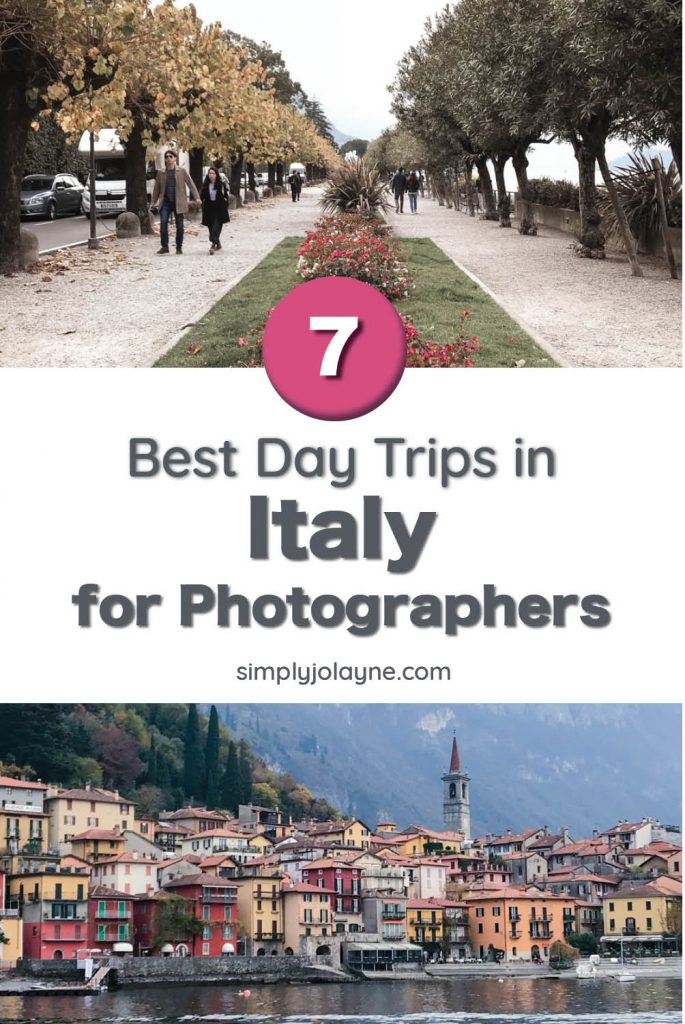 Best day trips in Italy for photographers