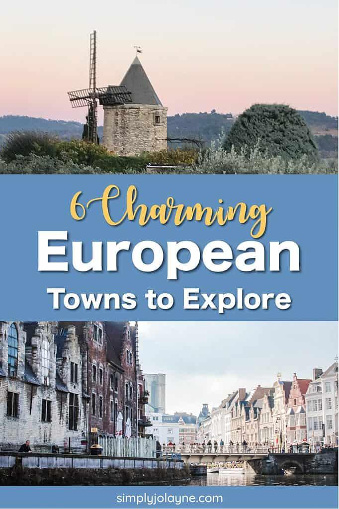 6 charming European towns to explore