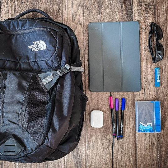 Carry-on backpack for travel