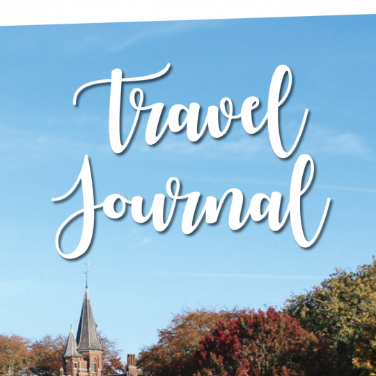 journal your travels book cover of journal